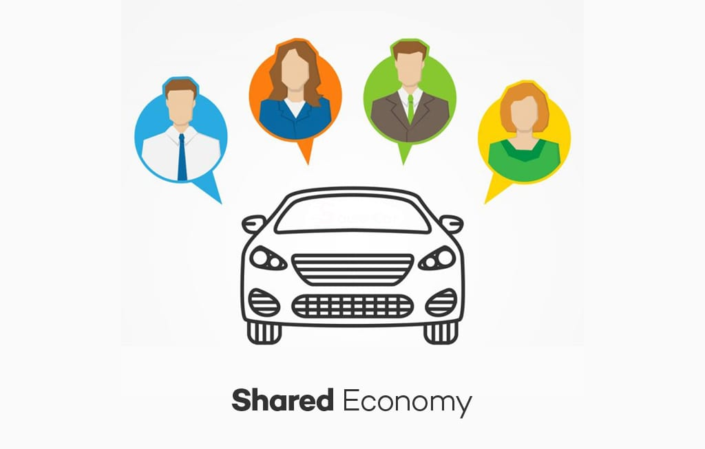 Shared business mode