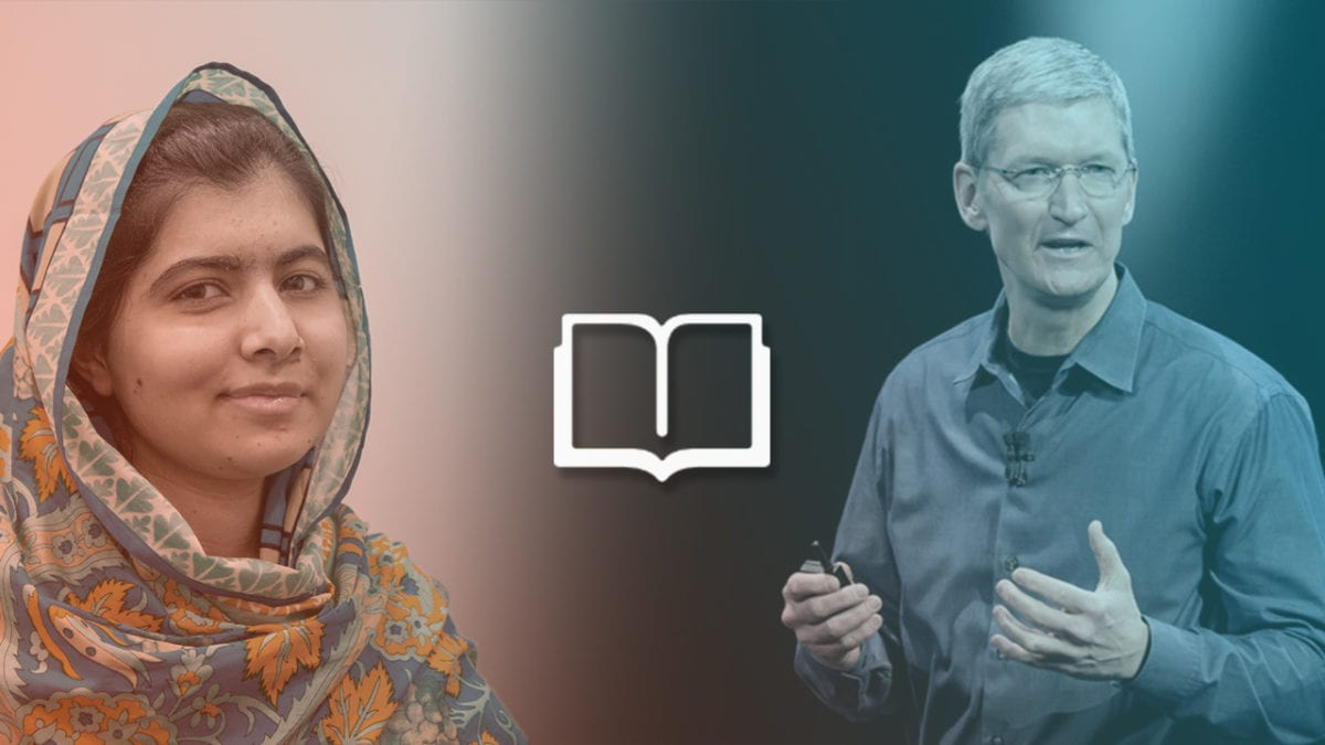 Malala Yousafzai, Apple CEO Tim Cook Team Up for Girls' Education