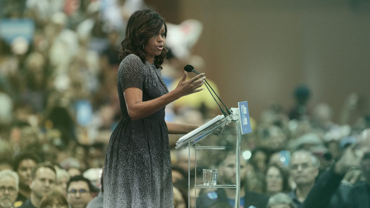 Unique Global Influencers Michelle Obama