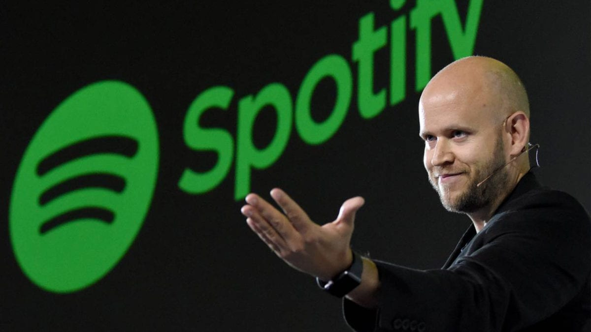 Daniel Ek Co-founder and CEO of Spotify